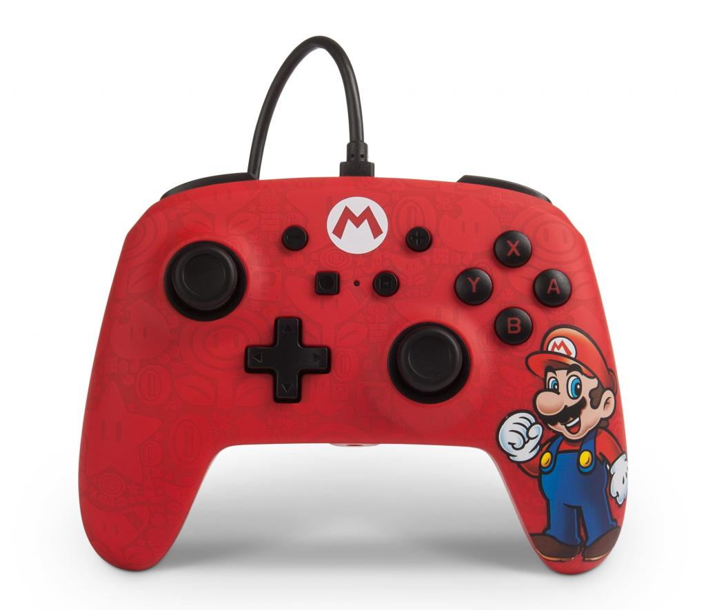 POWER A - Wired Controller Mario for Nintendo Switch NEW_1