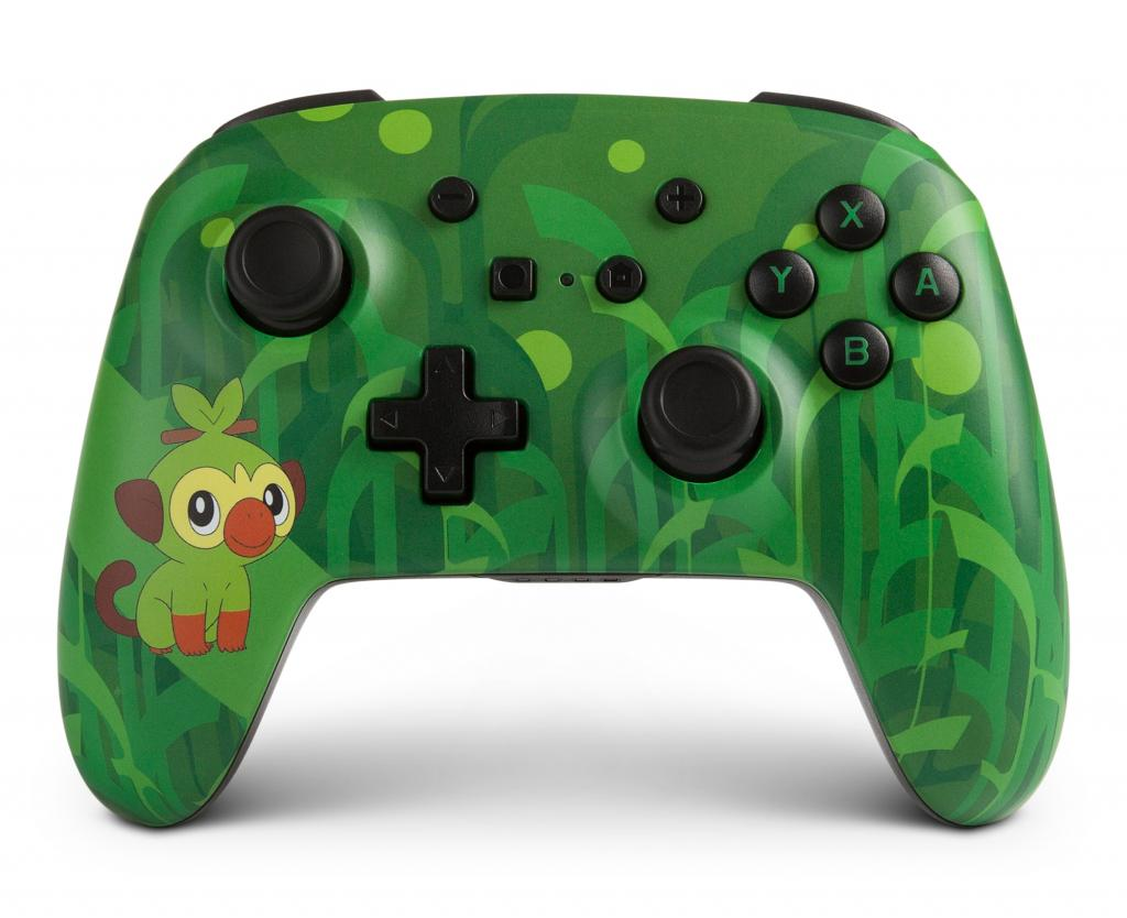 POWER A - Wireless Enhanced Controller Pokemon - Grookey for Switch_1