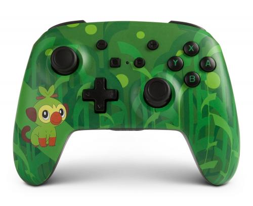 POWER A - Wireless Enhanced Controller Pokemon - Grookey for Switch