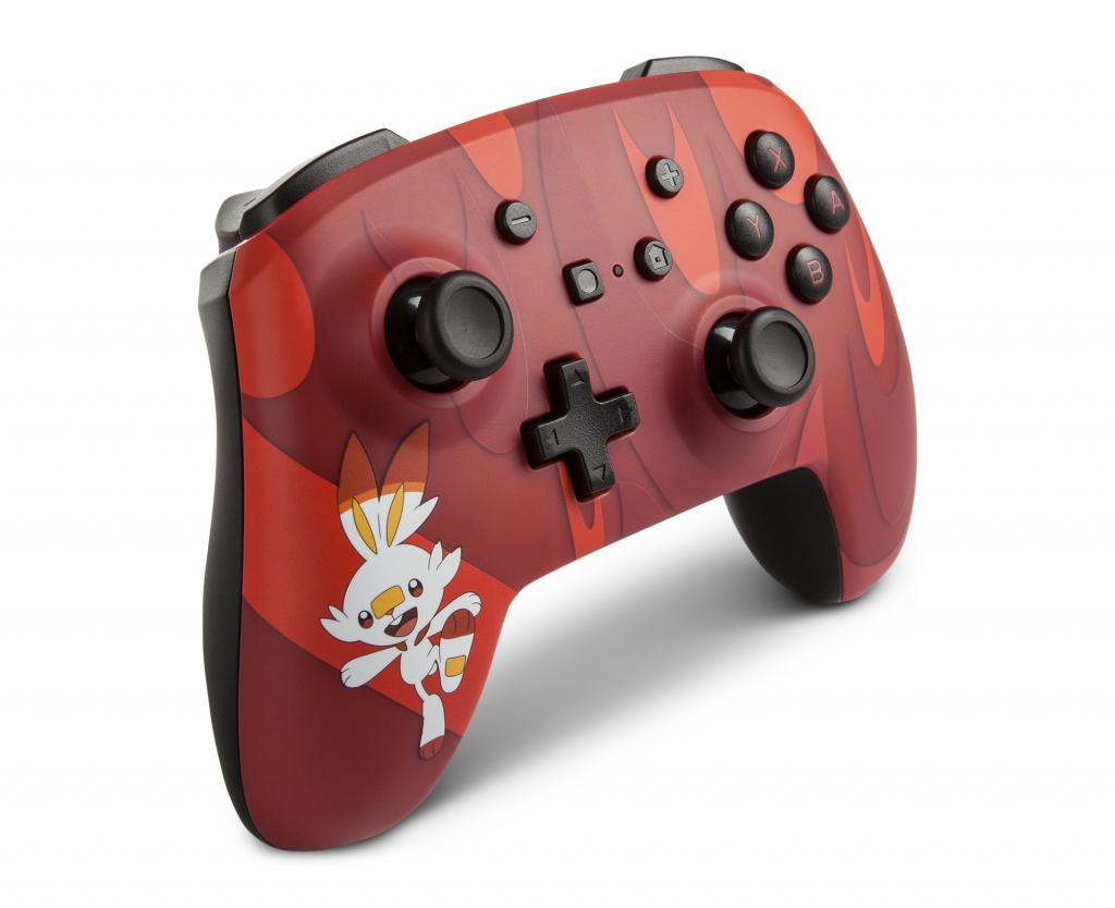 POWER A - Wireless Enhanced Controller Pokemon - Scorbunny for Switch_4