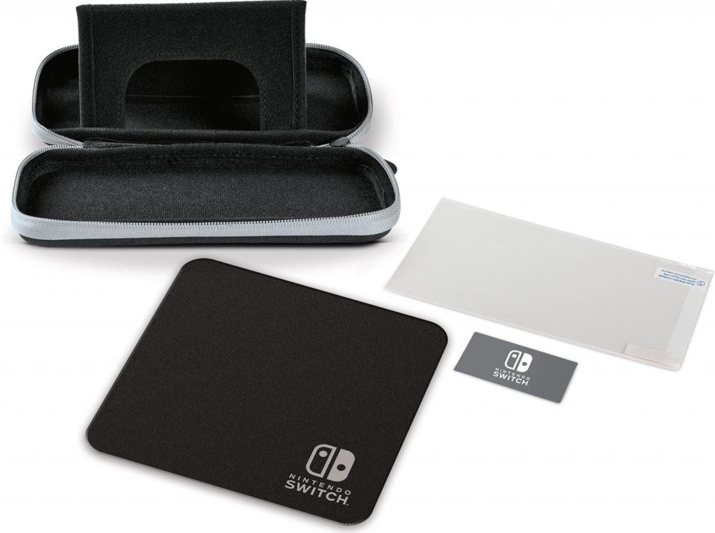 POWER A - Stealth Case Kit Black  for Nintendo Switch Lite