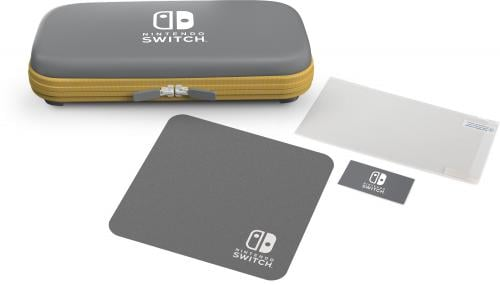 POWER A - Protection Case Kit Grey/Yellow for Nintendo Switch Lite