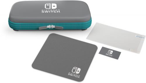 POWER A - Protection Case Kit Grey/Turquoise for Nintendo Switch Lite