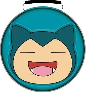 POWER A - Pokemon Carrying Case Snorlax for Nintendo Switch