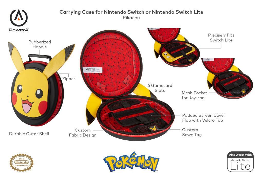 Official Nintendo Carrying Case Pokemon  - Pikachu_2