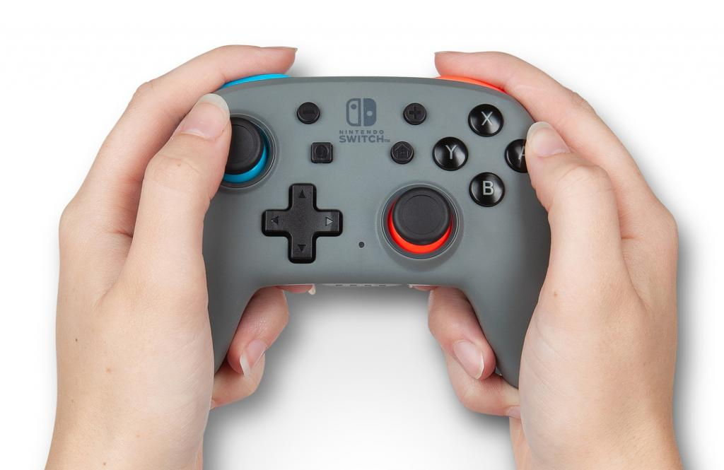 POWER A - Wireless Nano Enhanced Controller Grey-Neon  for Switch_2