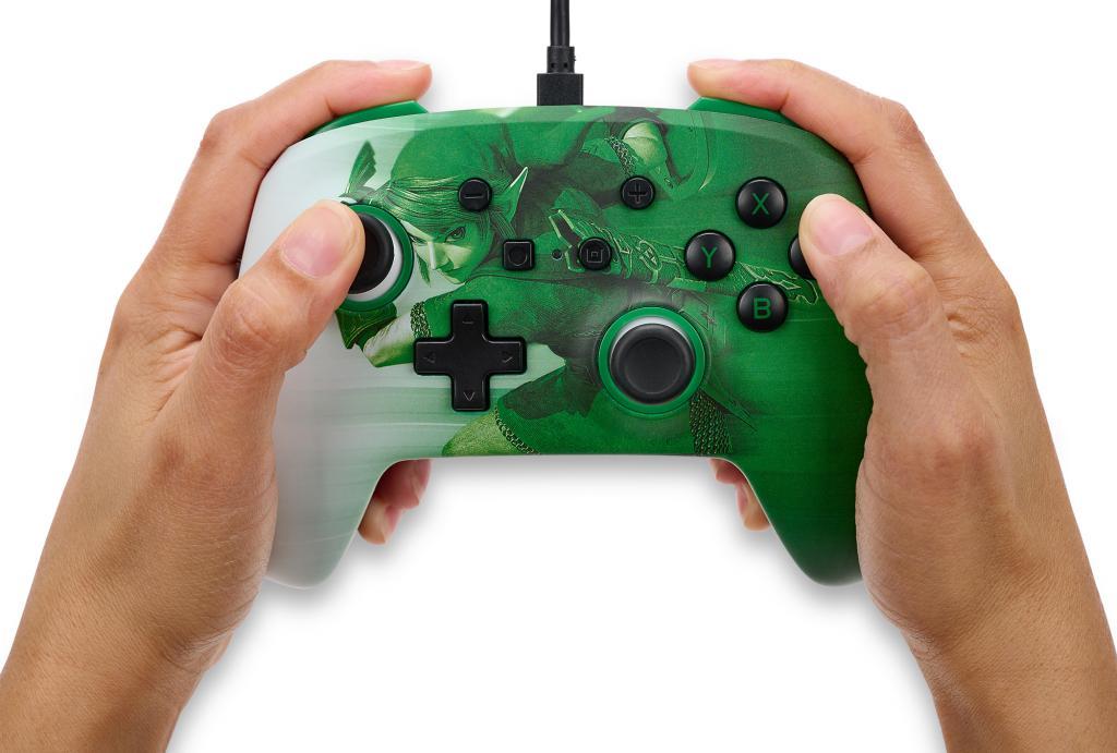 POWER A - Wired Enhanced Controller Heroic Link - Zelda_1