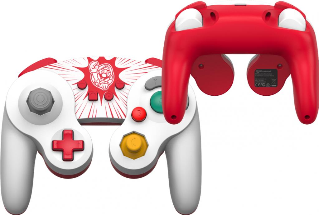 POWER A - Wired Controller GameCube Style Mario for Nintendo Switch_1