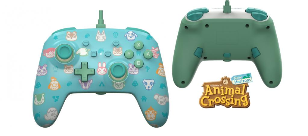 POWER A - Wired Enhanced Controller Animal Crossing for NintendoSwitch_1