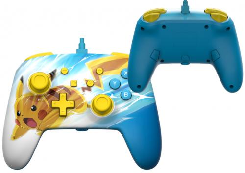 POWER A - Wired Enhanced Controller Pikachu Charge for Nintendo Switch