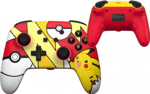 POWER A - Wired Enhanced Controller Pokemon Pop Art for NintendoSwitch