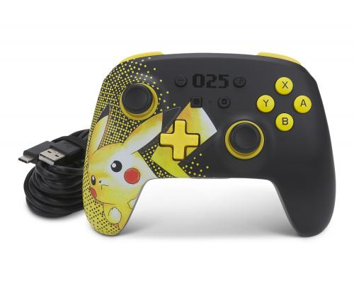 POWER A - Wireless Enhanced Controller Pokemon 025 for Switch