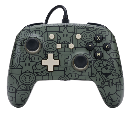 POWER A - Wired Enhanced Controller Power Up Mario