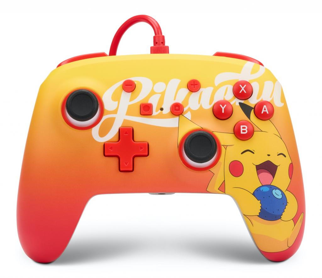 POWER A - Wired Enhanced Controller Berry Happy Pikachu - Pokemon_1