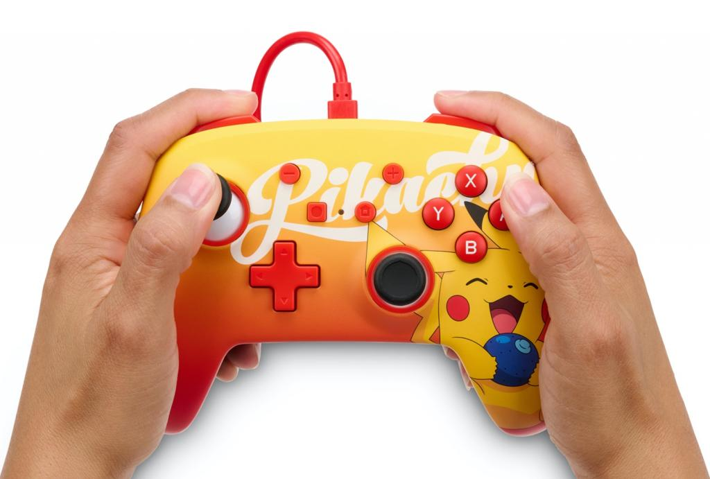 POWER A - Wired Enhanced Controller Berry Happy Pikachu - Pokemon_2