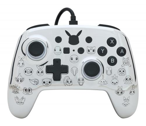 POWER A - Wired Enhanced Controller Pokemon 25 th Anniversary
