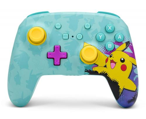 POWER A - Wireless Enhanced Controller Pikachu Paint - Nintendo Switch