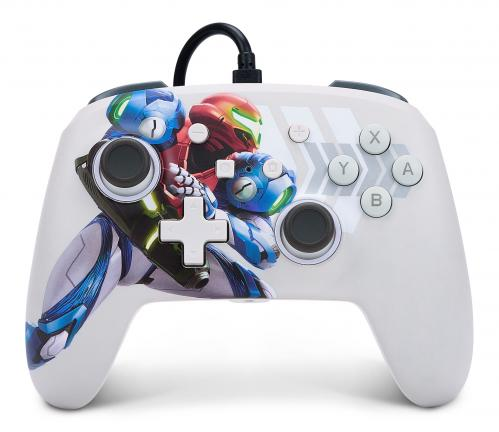 POWER A - Wired Enhanced Controller Metroid Dread