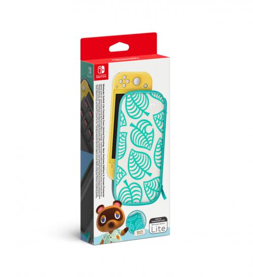 Carry Case + Screen Protector - Animal Crossing New Horizons - SW LITE