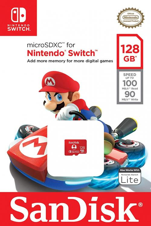 SanDisk microSDXC 128 GB Nintendo Switch