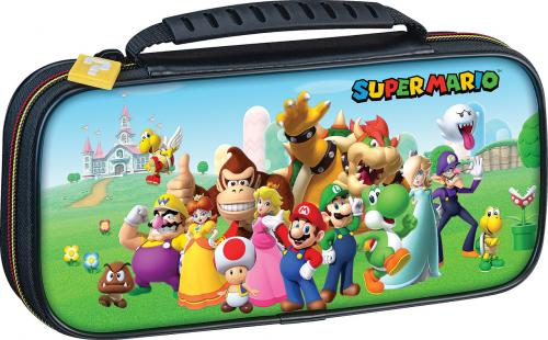 Official Mario & Friends Travel Case for Nintendo Switch