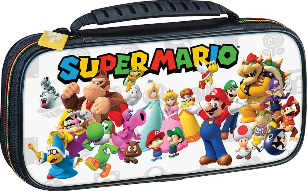 Official Mario & Friends White Travel Case for Nintendo Switch_1