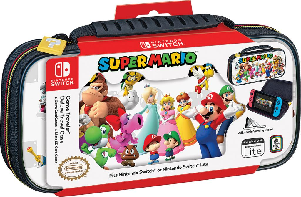 Official Mario & Friends White Travel Case for Nintendo Switch_2