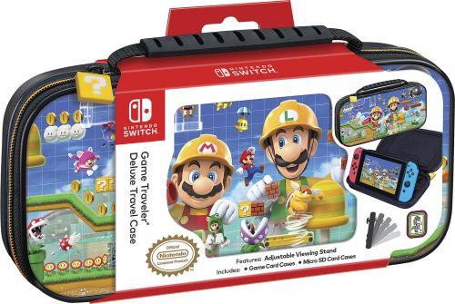 Official Mario Maker Travel Case for Nintendo Switch