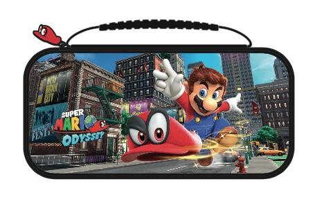Official Mario Odyssey Travel Case for Nintendo Switch
