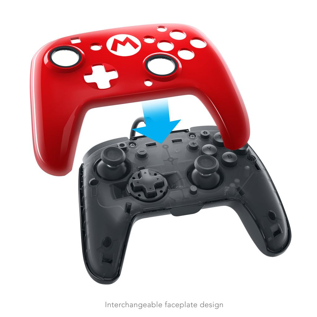 PDP - Official Deluxe Wired Pro Controller Super Mario Nintendo Switch