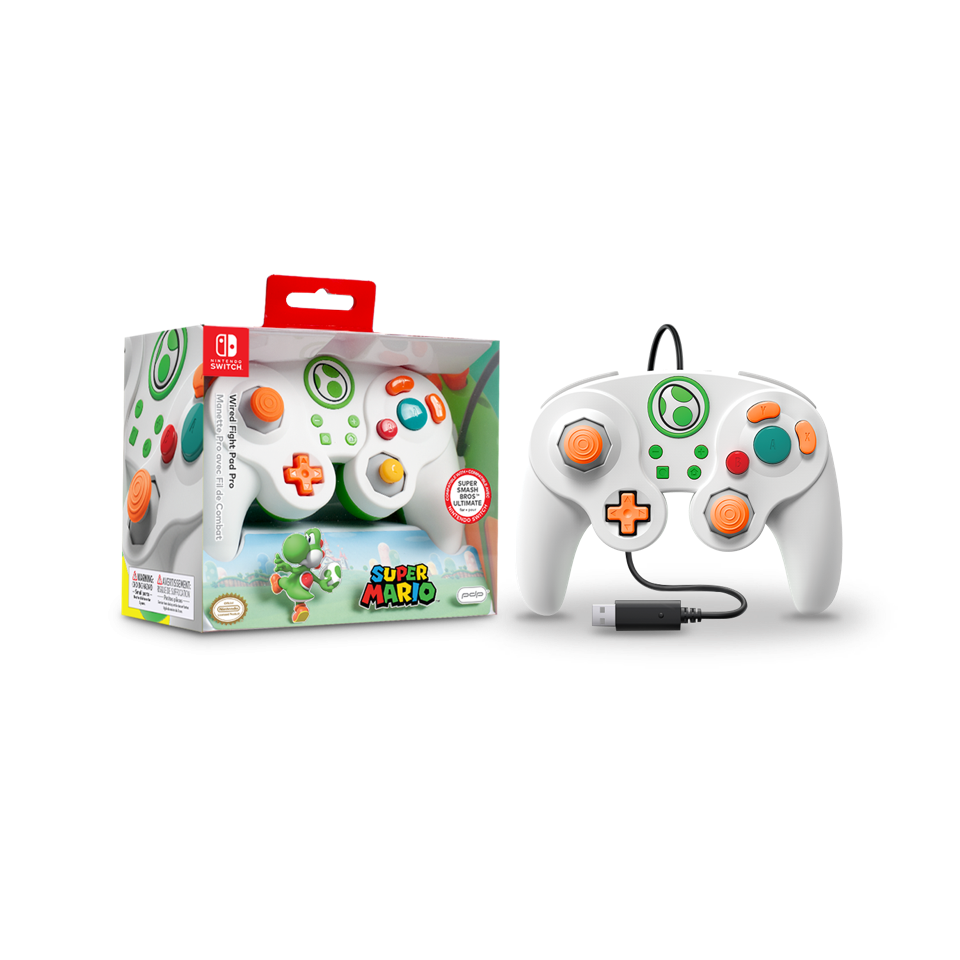 Official Wired Smash Pad Pro Yoshi Nintendo Switch_1