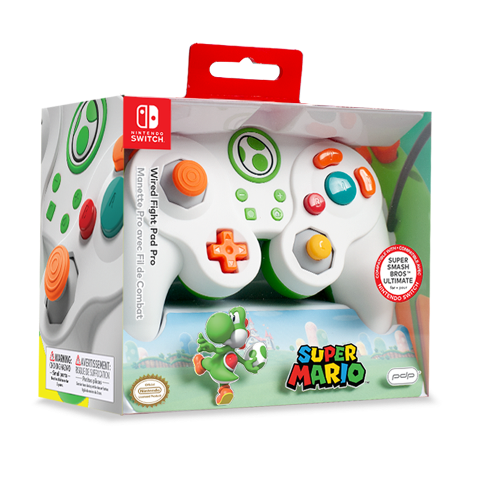 Official Wired Smash Pad Pro Yoshi Nintendo Switch_2