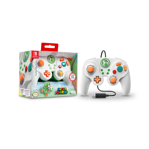 Official Wired Smash Pad Pro Yoshi Nintendo Switch