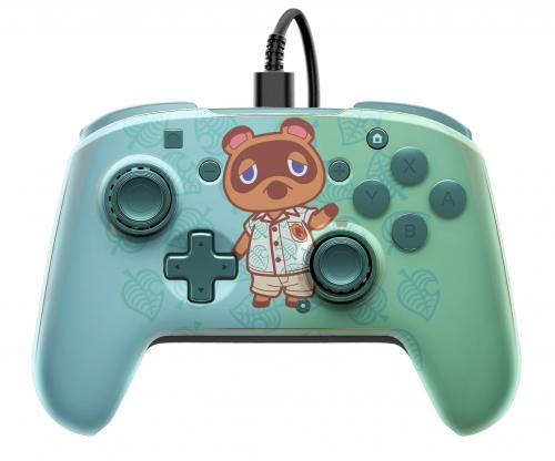 Official Faceoff Deluxe+ Audio Wired Animal Crossing Controller