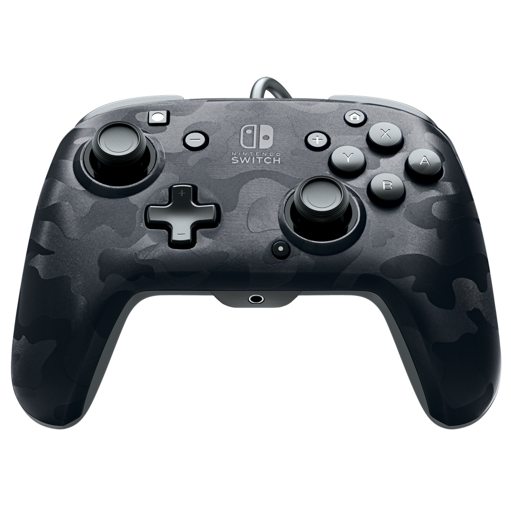 Official Faceoff Deluxe+ Audio Wired Black Controller_3