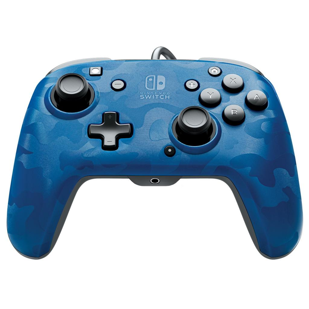 Official Faceoff Deluxe+ Audio Wired Blue Controller_5