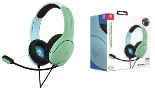 Official Nintendo Wired Headset LVL40 Switch Blue & Green