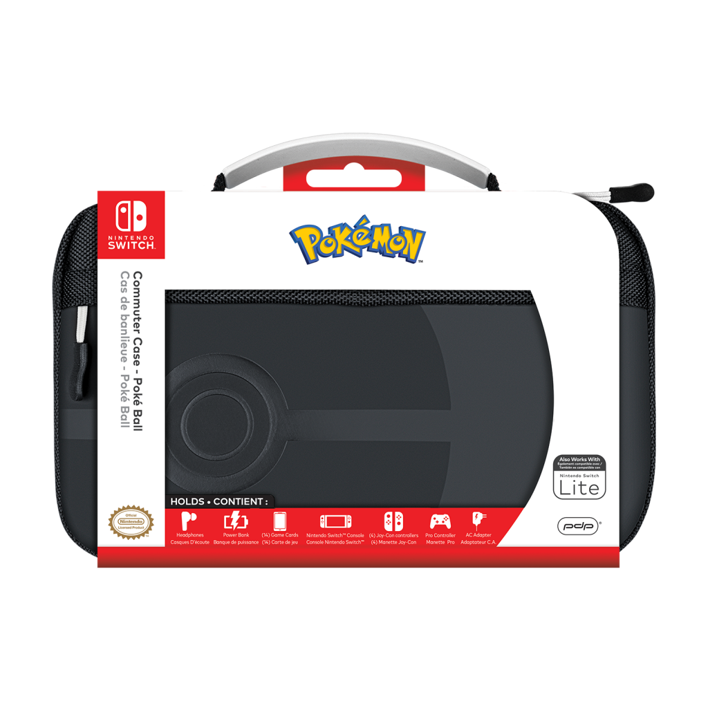 Official Switch Commuter Case - Pokeball for Switch & Switch Lite_3