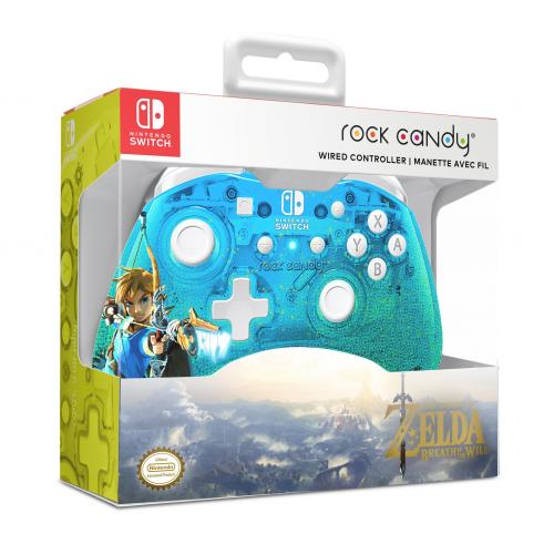 Rock Candy - Official Wired Mini Controller Zelda