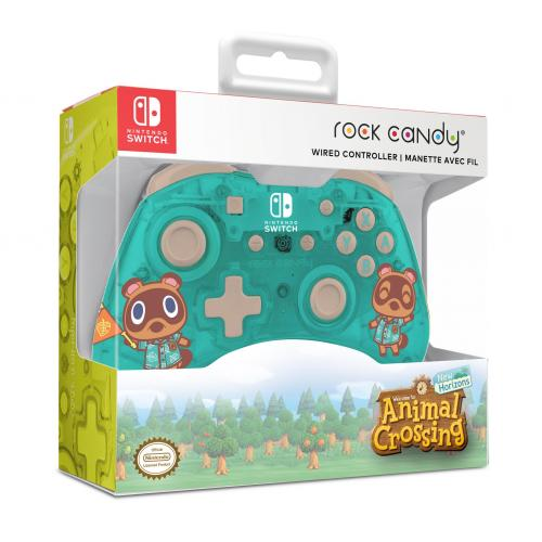Rock Candy - Official Wired Mini Controller Animal Crossing