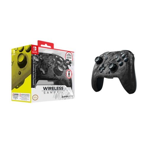 Official Faceoff Deluxe+ Audio Wireless Black Controller NEW CAMO