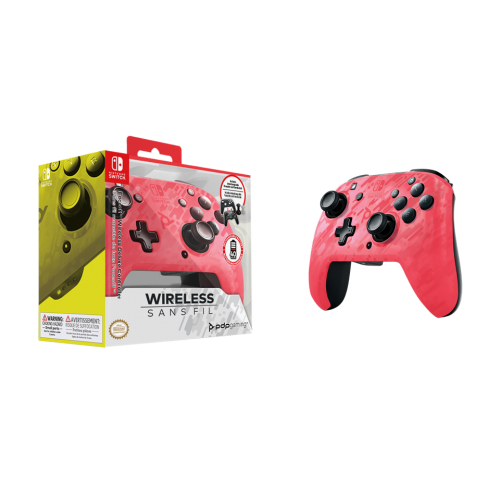 Official Faceoff Deluxe+ Wireless Pink Controller NEW CAMO