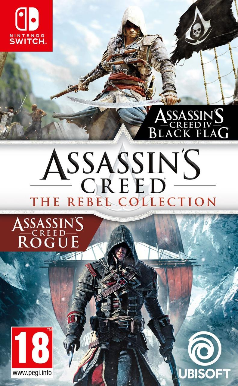 Assassin's Creed Black Flag + Assassin's Creed Rogue Remastered_1
