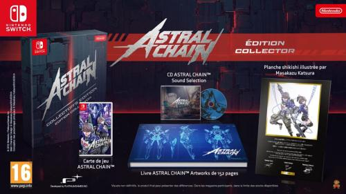 Astral Chain Edition Collector