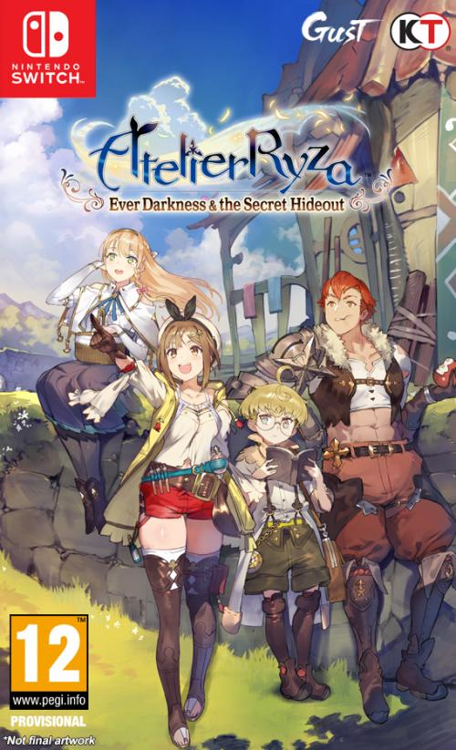 Atelier Ryza - Ever Darkness & the Secret Hideo ( JPN voice + UK Text)