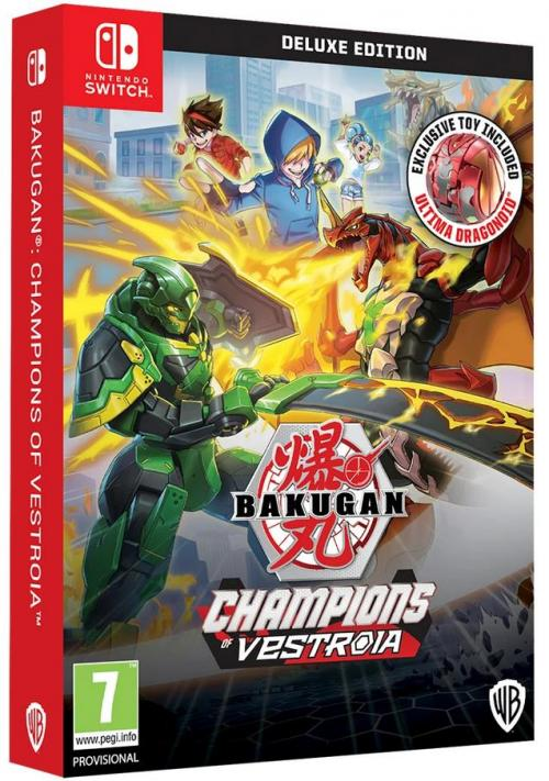 BAKUGAN: Champions of Vestroia Deluxe Edition