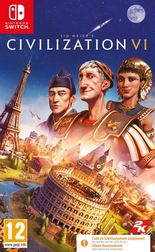 Civilization 6 (Code in Box)