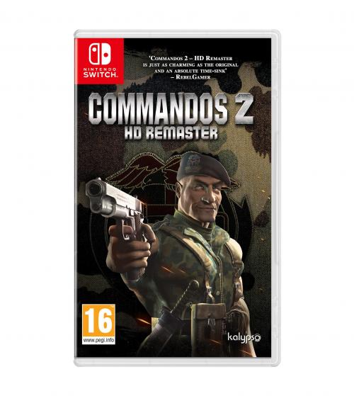 Commandos 2 HD Remaster Nintendo Switch Edition (BOX UK)