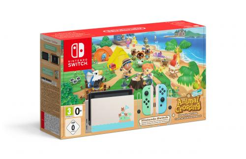 Console SWITCH - Animal Crossing Limited Edition