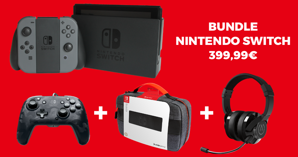 Console SWITCH - Grey Bundle_1